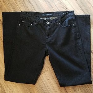 Calvin Klein Black Flare Jean